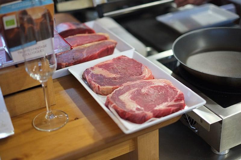 Fleisch-Gourmet-Abend im Laden für Genießer
